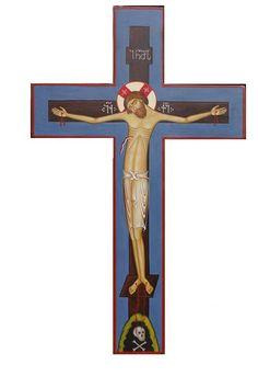 Religious Images, Religious Icons, Religious Art, Wooden Crosses, Mary And Jesus, Spiritus, Best Icons, Byzantine Art, Holy Cross