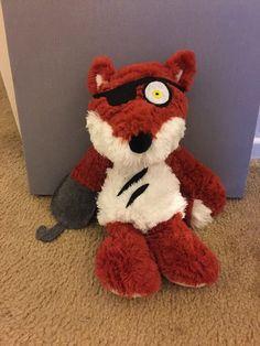 Five nights at freddy s foxy plush by allthingsfreddy on etsy
