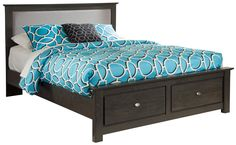 Shylyn Queen Upholstered Storage Bed by Signature Design by Ashley