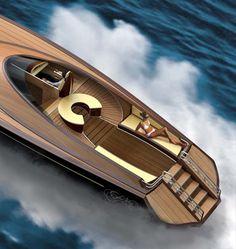 Sea King Luxury Yacht by Adam Schacter ᘡղbᘡ