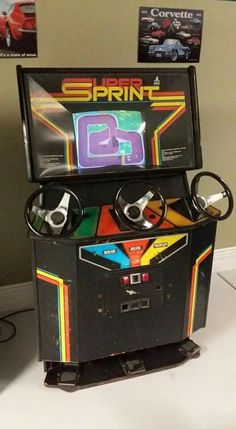 Such a great, vintage game! Check out arcade themed, original design t-shirts at Old School Arcade Games, Retro Arcade Games, Arcade Game Machines, Arcade Machine, Slot Machine, Classic Video Games, Retro Video Games, Pinball, Diy Arcade Cabinet