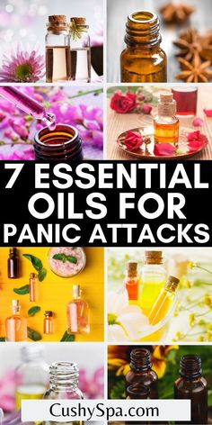 These essential oils are perfect for you if you suffer from anxiety or panic attacks. Use these essential oils for anxiety to help alleviate your panic attacks more naturally #Aromatherapy #EssentialOils Essential Oils For Migraines, What Are Essential Oils, Essential Oil Uses, Essential Oil Diffuser, Aromatherapy Benefits, Aromatherapy Recipes, Chamomile Essential Oil, Eucalyptus Essential Oil, Dealing With Panic Attacks