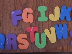braille alphabet using puffy paint and foam letters Art Activities For Kids, Language Activities, Learning Activities, Art For Kids, Teaching Time, Teaching Tools, Alfabeto Braille, Visually Impaired Activities, Braille Alphabet