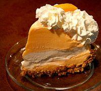 Orange Creamsicle Ice Cream Pie