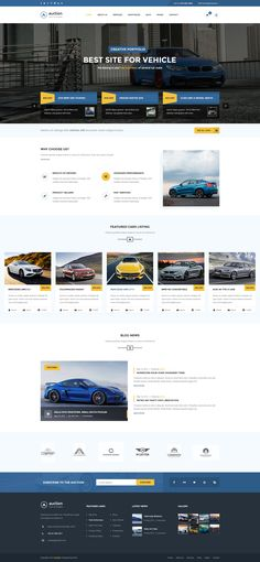 Best site design for vehicle