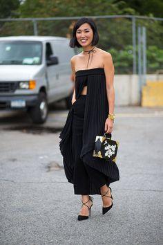 Kultstatus | D I L E T T A N T E | Nicole Warne does street style en noir. New York Spring 2015