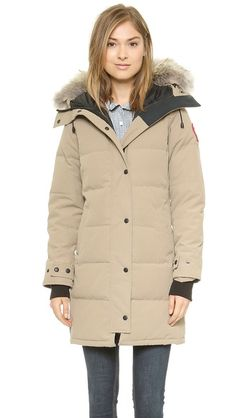 Authentic Canada Goose' Shelburne Parka 3802l Redwood Womens Coat Tei-3