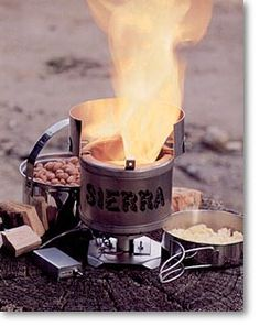 SIERRA STOVE Just add a TEG to power the fan and it will be FANtastic