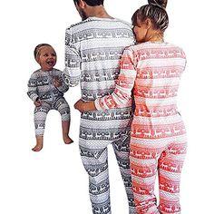informazioni per 55b26 20837 La Famiglia Coordinazione Natale Pigiami Interi Ragazza Casa ...