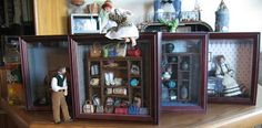 Models with Shadow Boxes