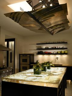 Amazing Kitchens. Onyx CountertopsIn ...