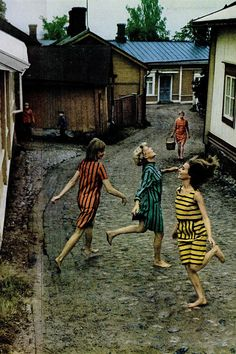 vintage Marimekko editorial in a LIFE magazine edition from 1966