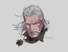 The Witcher, geralt, yennefer, triss photos The Witcher Game, The Witcher Books, The Witcher Geralt, Witcher Art, Character Art, Character Design, Rpg Map, Good Cartoons, White Wolf