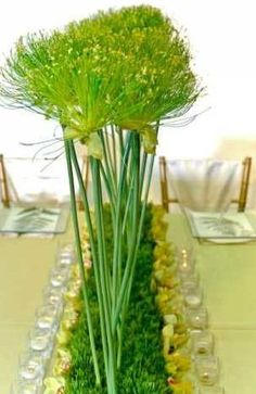 green reception wedding flowers,  wedding decor, wedding flower centerpiece, wedding flower arrangement, add pic source on comment and we will update it. www.myfloweraffair.com