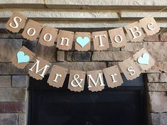 Items similar to Soon To Be Mr & Mrs Banner, Bridal Shower Banner, Wedding Banner, Rustic Bridal Shower Decor, Engagement Party Decor on Etsy Food Wedding Favors, Gift Wedding, Bridal Shower Decorations, Bridal Showers, Great Photos, Photo Props, Shower Ideas, Shrimp, Centerpieces