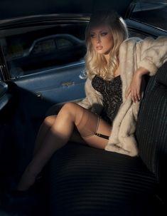 ✿ #Nylon #Stockings ❥ #Fur melody