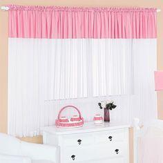 Deixe o quartinho do seu bebê muito mais charmoso e bonito com a Cortina Infantil Rosa Escuro -  2,00m x 1,60m - Para Varão Simples! Uma cortina super linda, que além de valorizar a decoração, torna o ambiente mais agradável e aconchegante! Aproveite!