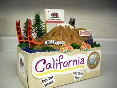 California State Float-I like the mountain idea
