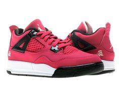 Nike Air Jordan Retro 4 (PS) Girls Basketball Shoes 487725-601 Nike. $79.95