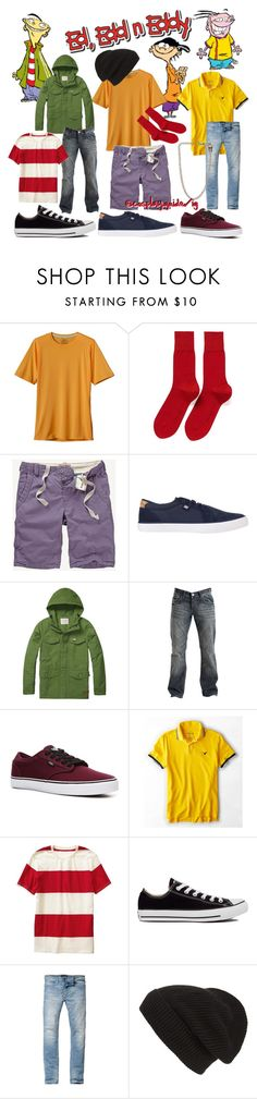 """Ed, Edd n Eddy"" by consultingpolyvorer ❤ liked on Polyvore featuring Patagonia, Falke, Fat Face, DC Shoes, Scotch & Soda, Crafted, Vans, American Eagle Outfitters, Old Navy and Converse"