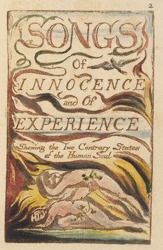 William Blake: Libros iluminados