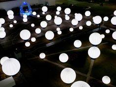 DJ light installation