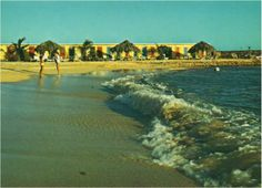 [THROWBACK THURSDAY] A relaxing beach day at the Avila Hotel back in 1968. Do you recognize our Sea Terrace beach? #Avila65Anniversary #OldestHotelonCuracao