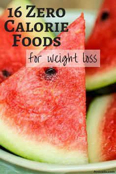 16 Zero Calorie Foods For Weight Loss | Healthy Living | Avocadu.com