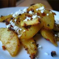 Herbed Greek Roasted Potatoes with Feta Cheese - Allrecipes.com