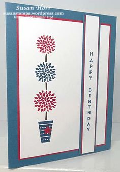 Vertical Greetings, Stampin Up, susanstamps.wordpress.com