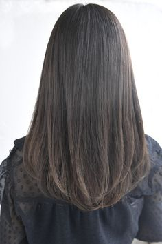 Haircuts Straight Hair, Haircuts For Medium Hair, Medium Hair Cuts, Long Hair Cuts, Hairstyles Haircuts, Medium Hair Styles, Long Hair Styles, Korean Hair Color, Shot Hair Styles