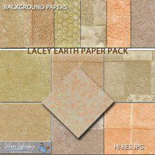 EXCLUSIVE Lacey Earth Papers by Silver Splashes #CUdigitals cudigitals.comcu commercialdigitalscrapscrapbookgraphics #digiscrap