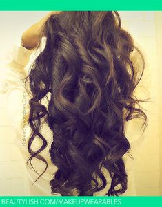 Romantic, Soft Curls for Long Hair Tutorial