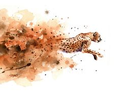Set of 3 Art Prints Cheetah Art Print Jungle Cat Wall Art Matisse Prints, Art Watercolor, Wildlife Art, Gouache, Female Art, Painting & Drawing, Wall Art Prints, Original Paintings, Drawings