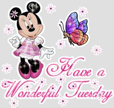 Happy Tuesday quotes minnie mouse ~ From my Dear Friend ~ Sharee Good Morning Tuesday Images, Happy Tuesday Pictures, Happy Tuesday Morning, Happy Tuesday Quotes, Tuesday Humor, Good Morning Happy, Morning Images, Funny Morning, Morning Pics