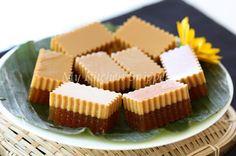My Kitchen Snippets: Agar Agar Gula Melaka /Palm Sugar Jelly