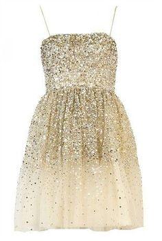 Beautiful glittery dress - damas