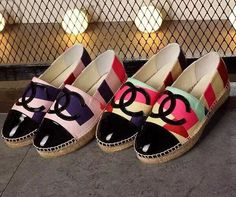 Buy CHANEL ST75744 35-40,woman Fisherman Espadrilles Canvas shoes store