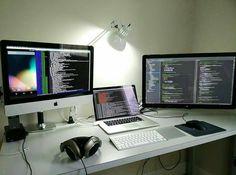 @programmerrepublic -  Nice coding setup! shared by @setuptour_  Nice…