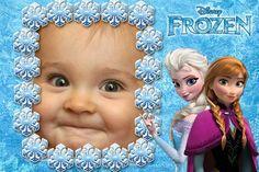 Fotomontaje infantil de Frozen