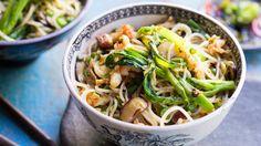 Flavour fusion: Singapore noodles.
