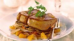 Voici une recette de #foie gras de #canard entier poêlé aux #agrumes