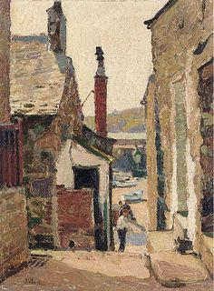 Cornish Harbour, John Anthony Park. (1880 - 1962)