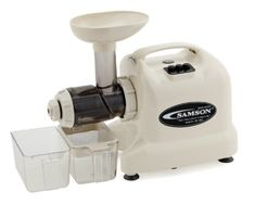 Special Offers - Samson  Advanced Multi-Purpose Wheatgrass Juicer  IVORY - In stock & Free Shipping. You can save more money! Check It (April 07 2016 at 12:19PM) >> http://standmixerusa.net/samson-advanced-multi-purpose-wheatgrass-juicer-ivory/