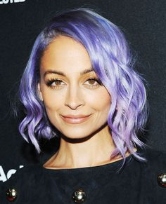 Short curly hair inspo: Nicole Richie #InStyle