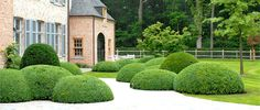 Landscape Focused: landscape, garden design ideas — Landscape and garden architecture by Stijn. Love Garden, Garden Pool, Dream Garden, Garden Landscaping, Home And Garden, Formal Gardens, Outdoor Gardens, Boxwood Garden, Garden Architecture