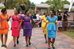 Sepedi traditional attire i LOVE it African Print Dresses, African Print Fashion, African Fashion Dresses, African Dress, African Prints, African Attire, African Wear, African Women, African Style