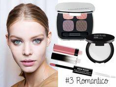Idea makeup San Valentino: smokey eye romantico viola e marrone ispirato a Gucci Primavera/Estate 2015