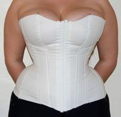 DIY corset for full figured women