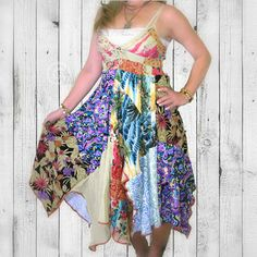 OOAK Upcycled Dress by Pandora's Passions  #upcycledclothing #alteredcouture